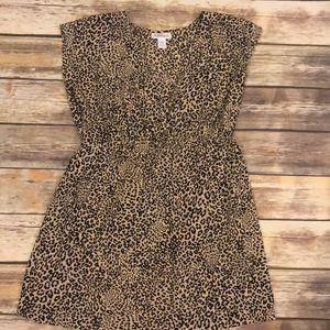 Motherhood maternity leopard shirt